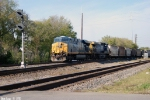 CSX 5332,322 run a rain train south through Nashville