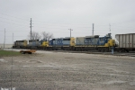 CSX 8137,8420,6427,2225 of Q534 work Memphis Junction Yard