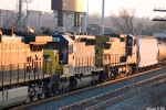 CSX 8856,7341 try to look inconspicuous on Q578