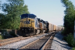 CSX 9052 Q201 Sits on the Morgantown siding