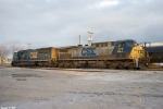 CSX 4743,277 G303 Backs into the Memphis junction yard
