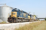 Q525 CSX 8367,8042,8059 works the Memphis junction yard.