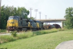 CSX 7371,8419,35 Q525 works the south end of Memphis Junction