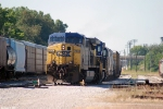 CSX 204 Q534 picks up track #2