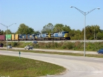 CSX 447,423,6495,2281 Q534 heads north