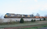 CSX 12,5387 W070 Waits for Q526 to finish taking on water.