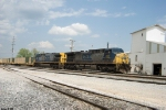 CSX 287,64 W837 military train heads south