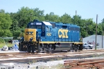 CSX 6092 with clean paint