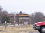 Northbound grain train