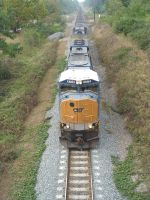 CSX 4772 dragging coal