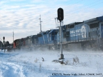 CN2517 Stirs Up a Mini Blizzard