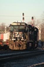 Rustbucket on 218 with a SD70M-2