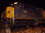 CSX 785 at Night
