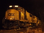 Coal Train at Night