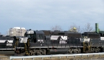 NS 3056 - Yard Power at Van Dorn Street