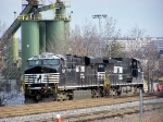 NS 7517 at Van Dorn Street Yard