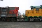 AERC GP9 3859 and GP35E 2501
