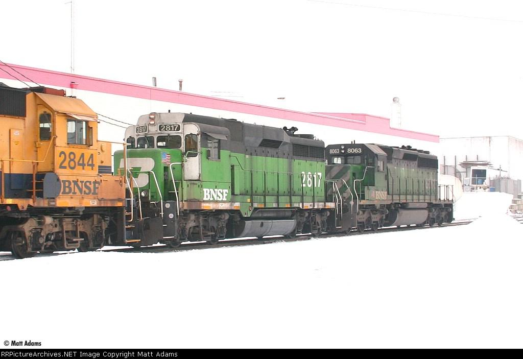 BNSF GP39M 2817