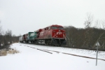 CP 8710 is westbound
