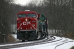 CP 8710 waits for the signal