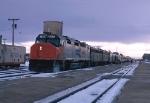 Eastbound Amtrak