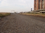 Empty trackbeds