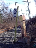 Old and New Mile Markers
