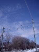 NJCL Catenary Wire Poles