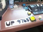 Controls Aboard UP 9765
