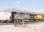 UP 6224 #1 DPU in WB grain train at 12:20pm