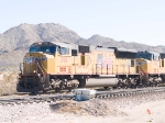 UP 3911 leads a WB intermodal at 10:29am