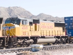 UP 4549 #2 power in WB intermodal at 10:56am