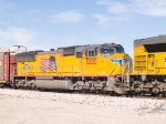 UP 5200 #3 power in EB intermodal at 12:15pm