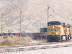 UP 5305 leads a WB intermodal at 12:07pm