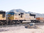 UP 3830 #2 power in WB intermodal at 9:23am