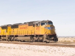 UP 4592 leads an EB intermodal at 12:56pm