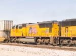 UP 3961 #2 power in EB intermodal at 12:56pm