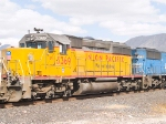 UP 3369 #2 power in WB doublestack at 1:04pm