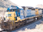 CSX 8096 leads ICIAT EB doublestack at 1:15pm