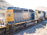 CSX 8367 #2 power in EB doublestack at 1:15pm