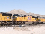 UP 4740 #3 power in WB manifest at 12:20pm