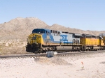 CSX 380 leads a WB autorack at 12:35pm