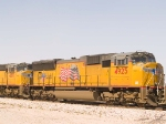 UP 4925 #2 power in EB stack at 1:10pm