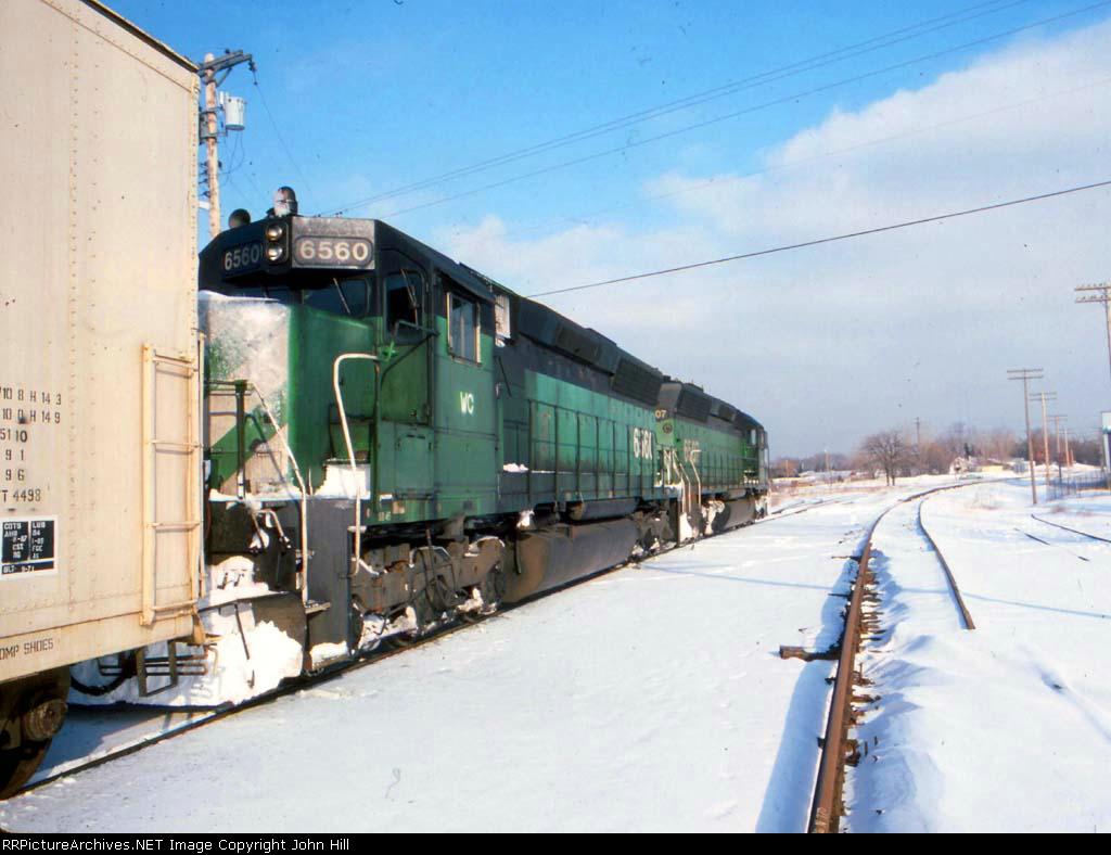 1421-14 WC 6507-6560 on SOO Line near MNNR crossing