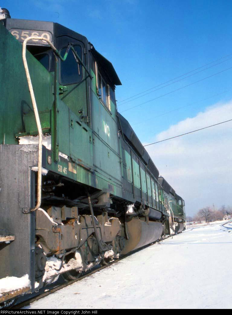 1421-15 WC 6507-6560 on SOO Line near MNNR crossing