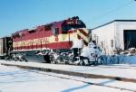 1422-06 WC 6677 on SOO Line near MNNR crossing