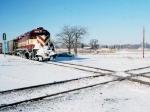 1422-16 WC 6677 on SOO Line at MNNR diamond crossing