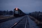 1423-23 Northbound BN freight at dusk