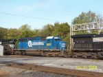 ex Conrail lettered for CSX on train NS 172