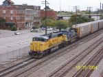 UP 2289 leads CSX train 215 southbound